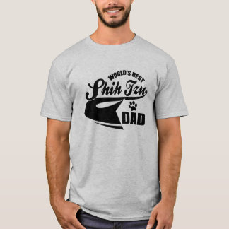 Bester Vati des Shih Tzu der Welt T-Shirt