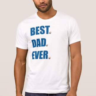 Bester Vati-überhaupt - Baseball T-Shirt