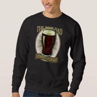 Bester Vati verdient einen Stout Sweatshirt
