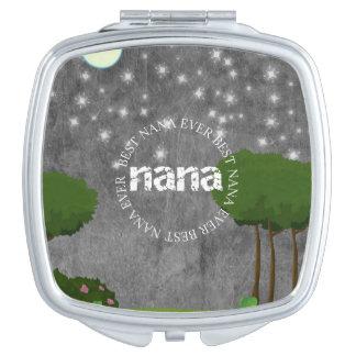 Bester Vertrag Nanas überhaupt - Holz-Nacht - Schminkspiegel