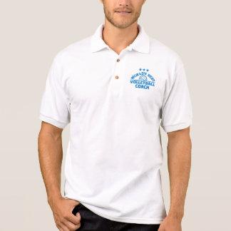 Bester Volleyballtrainer der Welt Polo Shirt