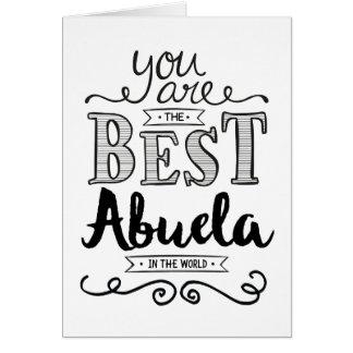 Best Abuela in the World Birthday