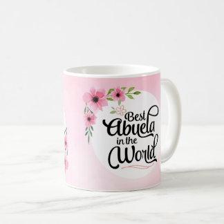 Bestes Abuela in der WeltBlumen-Tasse Kaffeetasse