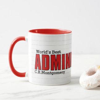 Bestes administrativesberufliches der Welt Tasse
