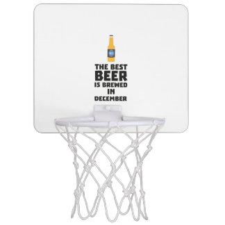 Bestes Bier ist gebrautes im Dezember Zfq4u Mini Basketball Ring