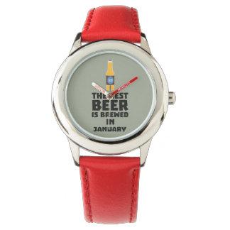 Bestes Bier ist gebrautes im Januar Zxe8k Uhr