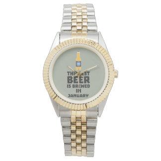 Bestes Bier ist gebrautes im Mai Z96o7 Armbanduhr