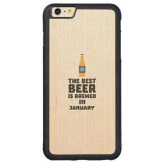 Bestes Bier ist gebrautes im Mai Z96o7 Carved® Maple iPhone 6 Plus Bumper Hülle