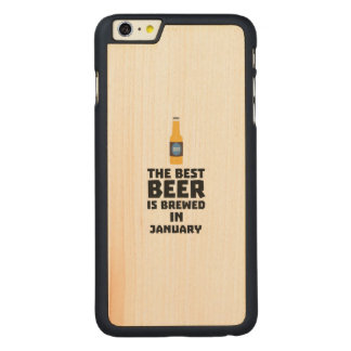 Bestes Bier ist gebrautes im Mai Z96o7 Carved® Maple iPhone 6 Plus Hülle