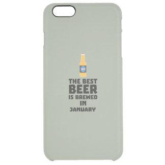 Bestes Bier ist gebrautes im Mai Z96o7 Durchsichtige iPhone 6 Plus Hülle