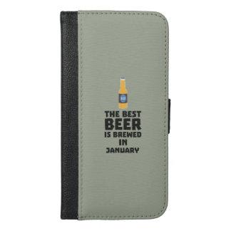 Bestes Bier ist gebrautes im Mai Z96o7 iPhone 6/6s Plus Geldbeutel Hülle