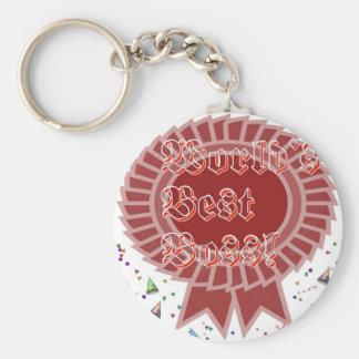 Bestes Chef-Schlüsselketten-Geschenk Standard Runder Schlüsselanhänger