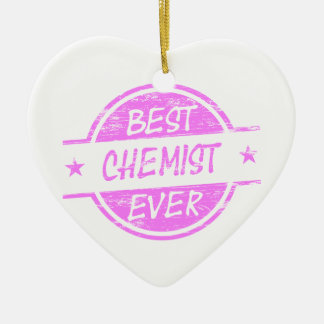 Bestes Chemiker-überhaupt Rosa Ornament