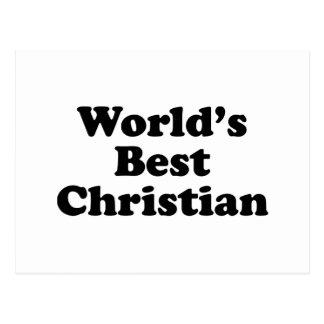 Bestes christliches der Welt Postkarten
