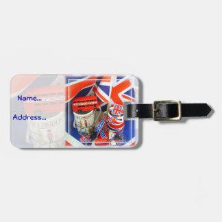 Bestes der britischen Andenken Kofferanhänger