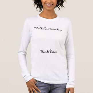 Bestes die Großmutter-(ohne handprints) Shirt der