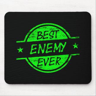 Bestes Feind-überhaupt Grün Mauspad