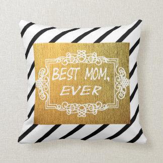 Bestes Geschenk der Tag der Mamma-überhaupt Mutter Kissen