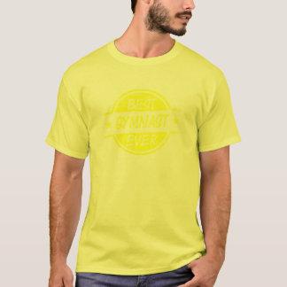 Bestes Gymnast-überhaupt Gelb T-Shirt