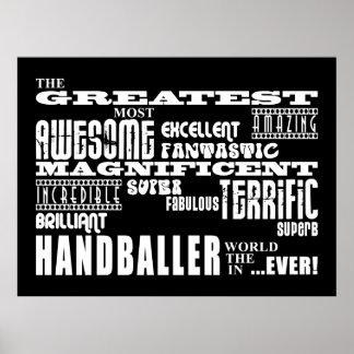 Bestes Handballers Beststes Handballer Posterdruck