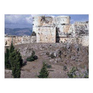 Bestes konserviertes Kreuzfahrerschloss der Welt, Postkarte