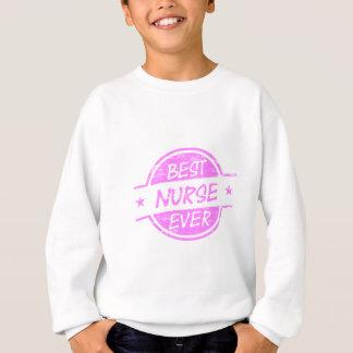 Bestes Krankenschwester-überhaupt Rosa Sweatshirt