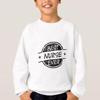 Bestes Krankenschwester-überhaupt Schwarzes Sweatshirt