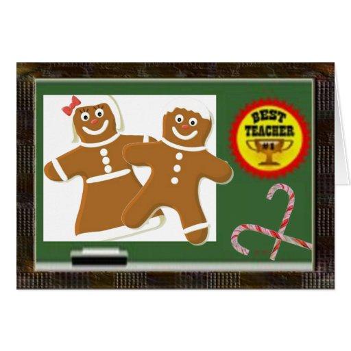 bestes lehrer weihnachten karte zazzle. Black Bedroom Furniture Sets. Home Design Ideas