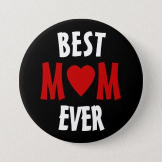 Bestes Mamma überhaupt Pinback Knopf-Abzeichen