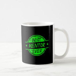 Bestes Mentor-überhaupt Grün Tasse