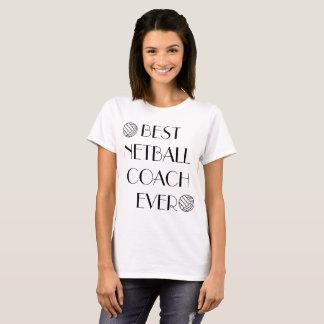 Bestes Netball-Zug-überhaupt T-Shirt