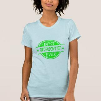 Bestes Orthodontist-überhaupt Grün T-Shirt