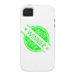 Bestes Sieger-überhaupt Grün iPhone 4 Hülle