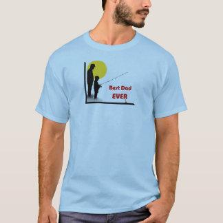 Bestes Vaterfischen des Vatis überhaupt mit dem T-Shirt