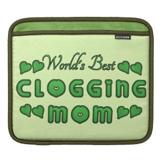 Bestes verstopfendie mamma-Grün der Welt Sleeve Für iPads