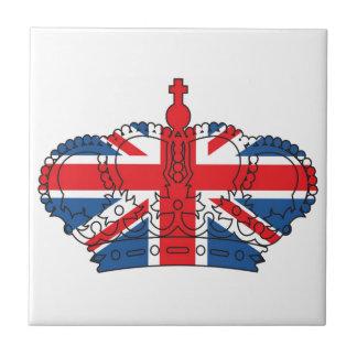 Bestes von Briten, Krone, Gewerkschafts-Jack Kleine Quadratische Fliese