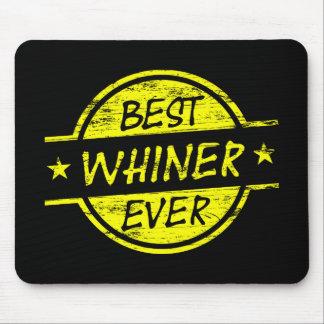 Bestes Whiner-überhaupt Gelb Mousepad