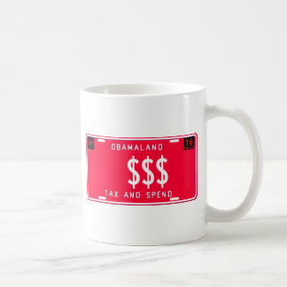 besteuern Sie u. wenden Sie auf Kaffeetasse