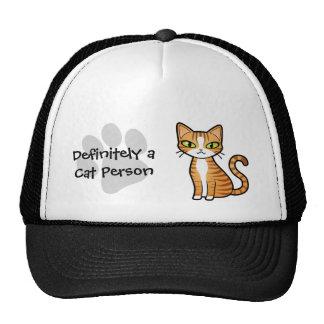 Bestimmt eine Katzen-Person (entwerfen Sie Ihre Trucker Cap