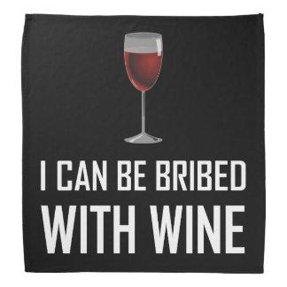 Bestochen mit Wein Kopftuch