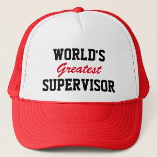 Bestste Aufsichtskraftkappe der Welt Truckerkappe