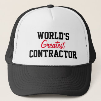 Bestste Auftragnehmerkappe der Welt Truckerkappe