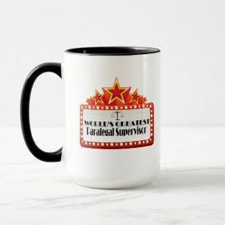 Bestste der Rechtsassistent-Aufsichtskraft der Tasse