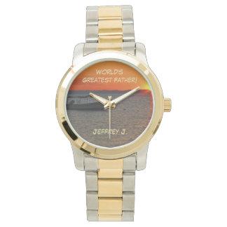 Bestste der Vater-Armbanduhr der Welt, Fischerboot Uhr