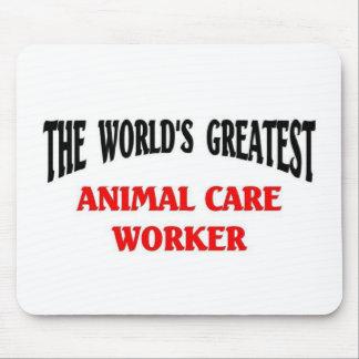 Bestste Tierpflege-Arbeitskraft Mauspads