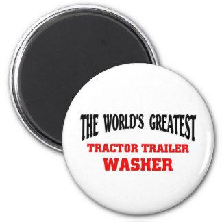 Bestste Traktortrailor-Waschmaschine Kühlschrankmagnet