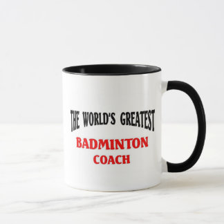 Bestster Badminton-Trainer Tasse