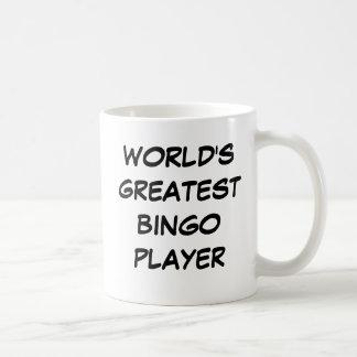"""Bestster das Bingo-Spieler-"""" Tasse """"der Welt"""
