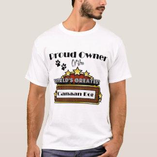 Bestster das Canaan der stolze Inhaber-Welt Hund T-Shirt
