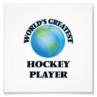 Bestster das Hockey-Spieler der Welt Foto